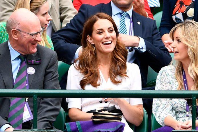 Celebrities at Wimbledon 2019