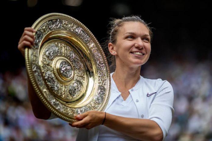 Simona Halep Wins Wimbledon