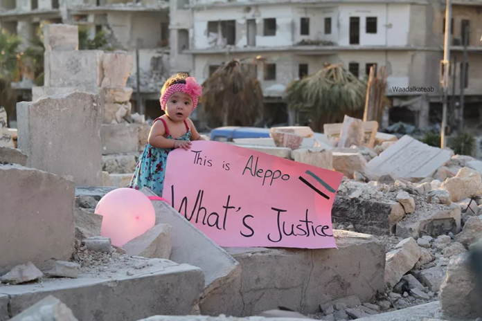 For Sama captures life in Aleppo under siege. It's not like anything you've seen before.