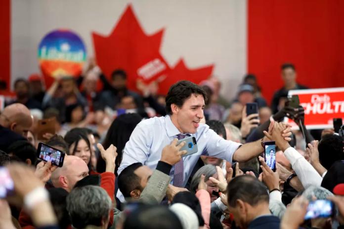 Justin Trudeau's Liberals win Canada's election