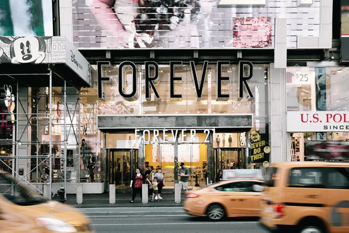Times Square location