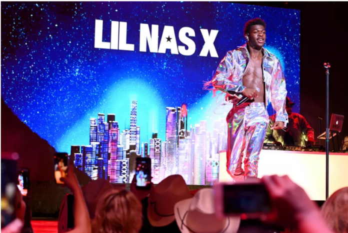 Lil Nas X performs onstage