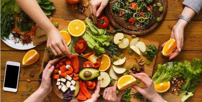 healthy eating journal articles